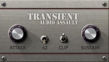 הפלאגין החינמי של השבועAudio Assault – Transient