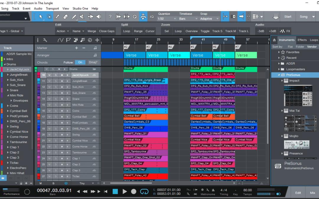 סיקור תוכנה – Studio One 4