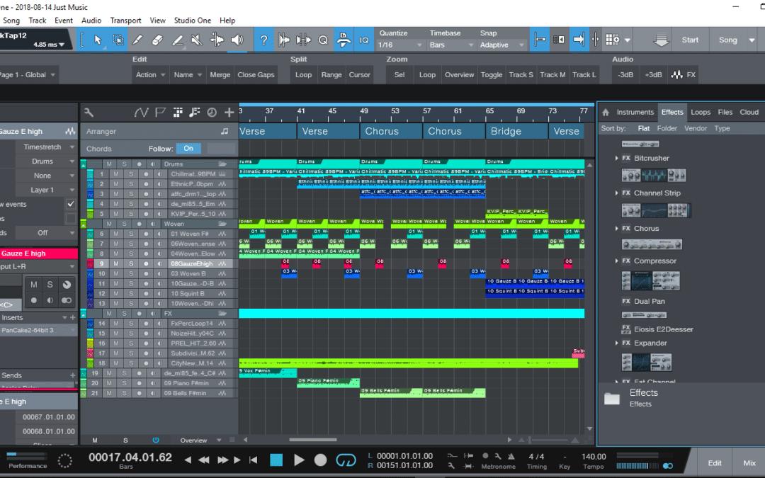 Studio One 4 Browser – החבר הכי טוב שלכם בתהליך בהפקה